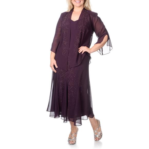 R&M Richards Dresses | Rm Richards Plus Size Long Formal Dress ...